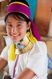 Muchacha de la tribu de Karen Imágenes de archivo libres de regalías