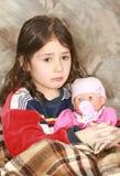 Muchacha de la tristeza Foto de archivo libre de regalías