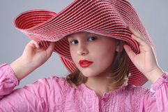 Muchacha de moda. Fotografía de archivo