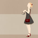 Muchacha de moda Foto de archivo