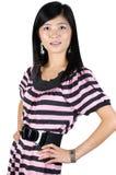 Muchacha de moda, bastante asiática Foto de archivo