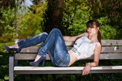 Muchacha de moda del adolescente Foto de archivo