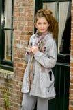 Muchacha de moda del adolescente de la manera Fotos de archivo libres de regalías