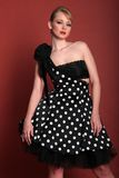 Muchacha de moda hermosa fotografía de archivo