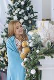Muchacha de nueve años linda Foto de archivo libre de regalías