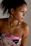 Muchacha de partido de moda Foto de archivo libre de regalías