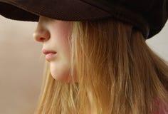 Muchacha de pelo rubio Imagen de archivo