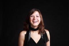 Muchacha de risa Foto de archivo