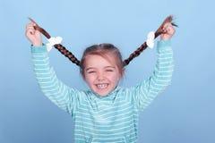 Muchacha de risa del niño Imagen de archivo libre de regalías