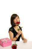 Muchacha de Rose fotografía de archivo libre de regalías