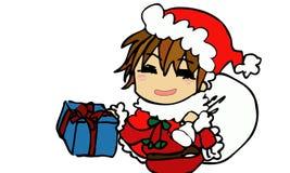 Muchacha de Santa Fotos de archivo libres de regalías