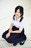 Muchacha de Thailand del estudiante Imagenes de archivo