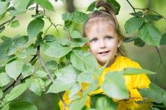 Muchacha de tres años de edad Fotos de archivo libres de regalías