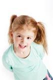 Muchacha de tres años magnífica Imágenes de archivo libres de regalías