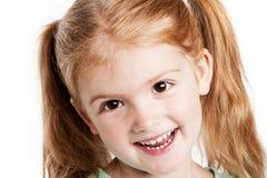Muchacha de tres años preciosa Fotos de archivo