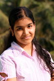 Muchacha de universidad india dulce Fotografía de archivo