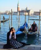 Muchacha de Venecia Imagenes de archivo