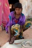 Muchacha de Wodaabe, Niger Imágenes de archivo libres de regalías