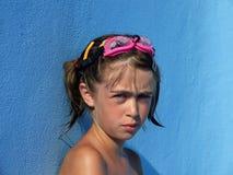 Muchacha decepcionante Fotografía de archivo libre de regalías