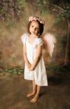 Muchacha del ángel Fotografía de archivo