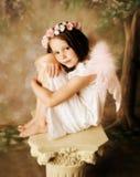 Muchacha del ángel Imagen de archivo libre de regalías
