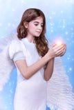 Muchacha del ángel Fotos de archivo