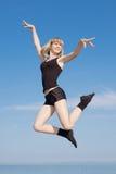 Muchacha del adolescente al aire libre Foto de archivo libre de regalías