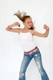 Muchacha del adolescente del baile Imagen de archivo