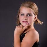 Muchacha del adolescente en amor Imagen de archivo libre de regalías
