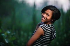 Muchacha del afroamericano imagenes de archivo