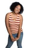 Muchacha del afroamericano Imágenes de archivo libres de regalías
