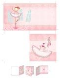 Muchacha del bailarín de ballet Imagen de archivo libre de regalías