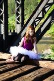 Muchacha del ballet Foto de archivo libre de regalías