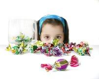 Muchacha del caramelo Foto de archivo libre de regalías