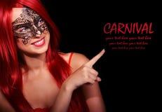 Muchacha del carnaval Fotografía de archivo