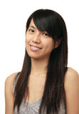 Muchacha del chino de la sonrisa Imagen de archivo libre de regalías
