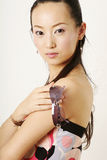 Muchacha del chino de Lamor Foto de archivo libre de regalías