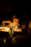 Muchacha del cumpleaños Imagen de archivo libre de regalías