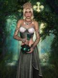 Muchacha del duende Foto de archivo libre de regalías