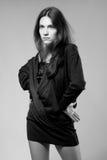 Muchacha del encanto de la moda Imagen de archivo libre de regalías