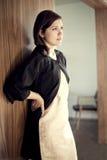 muchacha del estilo de los años 60 Imagen de archivo libre de regalías