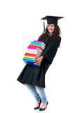 Muchacha del estudiante Foto de archivo libre de regalías