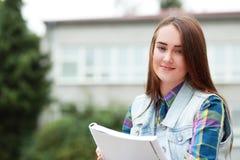 Muchacha del estudiante Imágenes de archivo libres de regalías