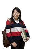 Muchacha del estudiante universitario Fotografía de archivo libre de regalías