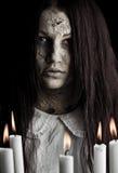 Muchacha del fantasma Foto de archivo libre de regalías