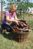 Muchacha del granjero Imagen de archivo libre de regalías