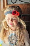 Muchacha del hippie fotografía de archivo libre de regalías