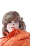 Muchacha del invierno Fotos de archivo