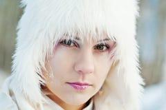 Muchacha del invierno Foto de archivo libre de regalías
