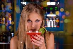 Muchacha del ir de discotecas Fotos de archivo
